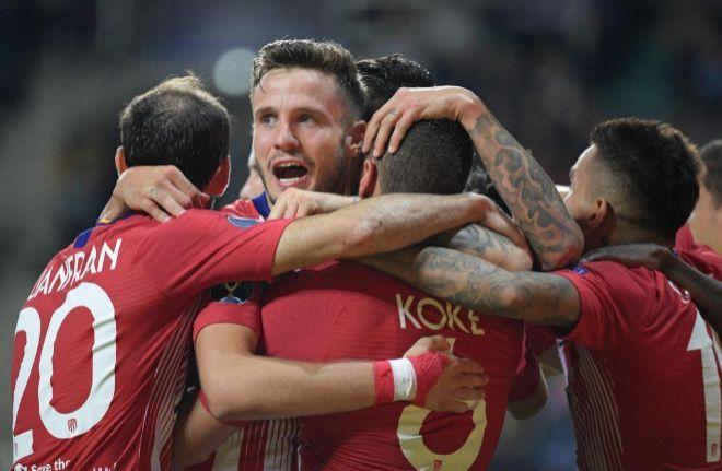 El Atlético se lleva la Supercopa al vencer al Real Madrid en la prórroga (2-4)
