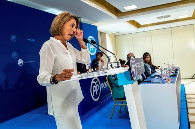 María Dolores de Cospedal anuncia que deja la Presidencia del PP de Castilla-La Mancha