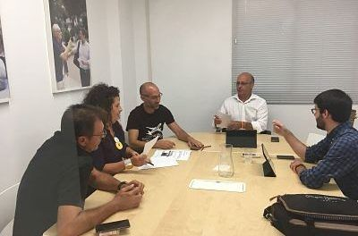 """Ciudadanos denuncia que """"la nefasta gestión del PP"""" puede dejar en el paro a muchos trabajadores del aeropuerto de San Javier"""