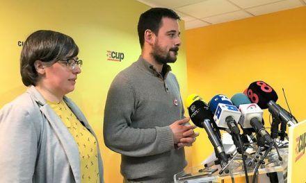 La CUP ve la legislatura «tocada de muerte» tras la crisis entre JxCat y ERC