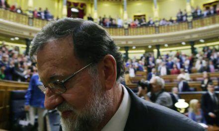 """Rajoy: """"Estoy a favor de los banqueros. Todo el mundo los critica, yo no"""""""