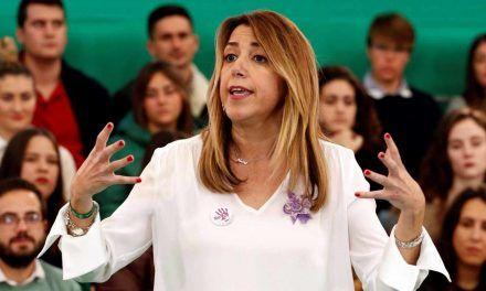 Susana Díaz será presidenta de la Junta de Andalucía gracias a Casado y Abascal