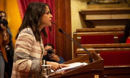 Arrimadas medita dar el salto a la política nacional y presentarse a las elecciones con Rivera