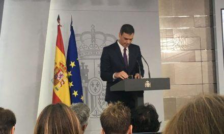 """Pedro Sánchez: """"El independentismo tiene pavor a sentarse a dialogar"""""""