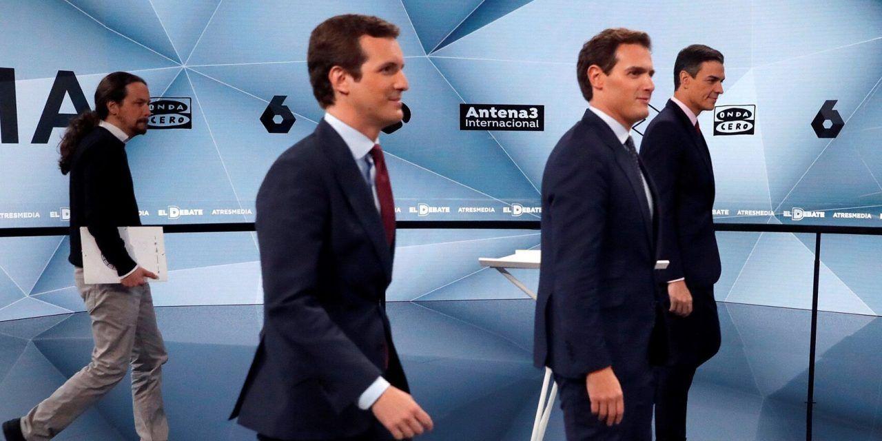 Rivera y Sánchez dinamitan los puentes entre PSOE y Cs: el debate de Atresmedia en 30 claves