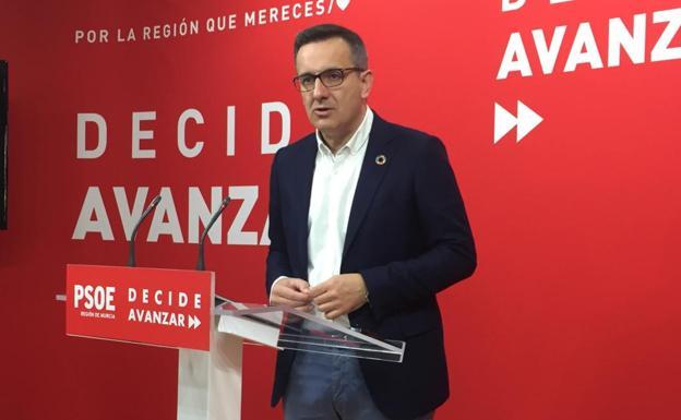 Conesa considera un «fracaso» abocar a la Región a nuevas elecciones