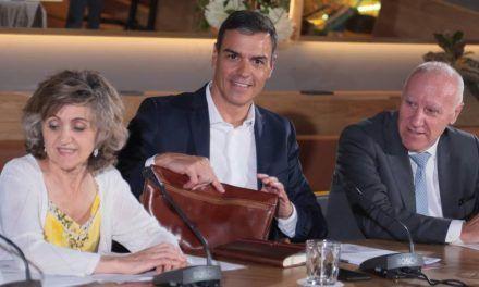 Pedro Sánchez ultima 300 propuestas en un plan para negociar la investidura