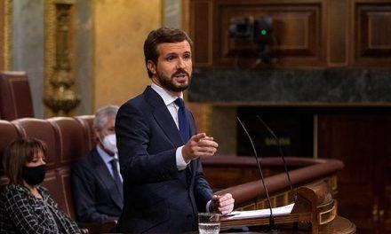 Pablo Casado abogó por una España unida y diversa y se convirtió en el gran ganador en la moción de censura