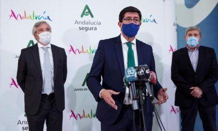 El vicepresidente andaluz apoya al Gobierno de Sánchez en el estado de alarma en Madrid