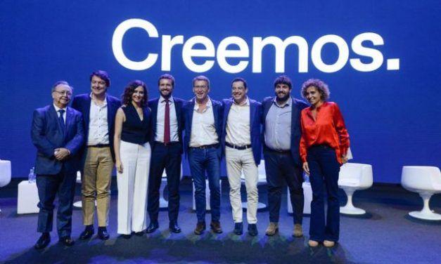 López Miras: «La garantía de libertad llegará cuando Pablo Casado presida el primer Consejo de Ministros»